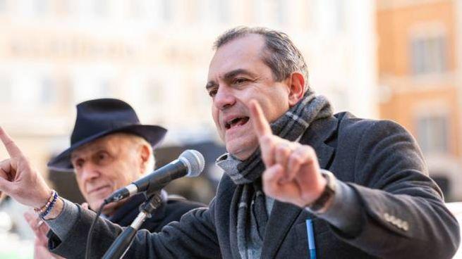 Il sindaco di Napoli, Luigi De Magistris (Imagoeconomica)