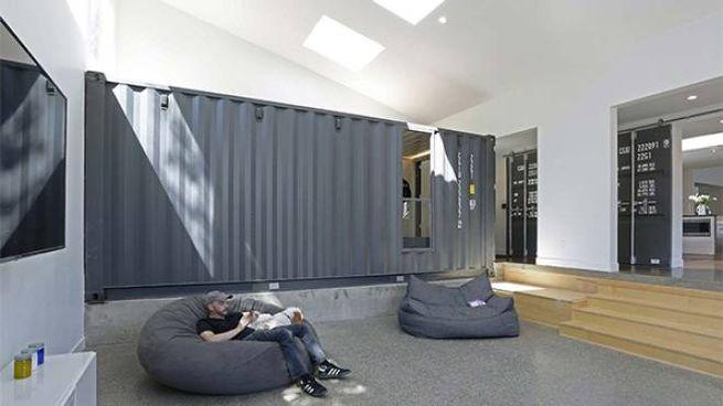 Ampliare la casa con i container