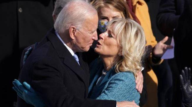 Jill e Joe Biden (Ansa)