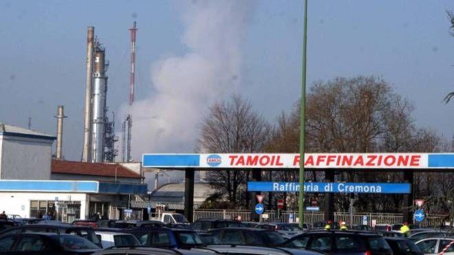 La raffineria Tamoil di Cremona