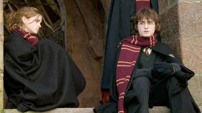 Una scena di Harry Potter (Ansa)