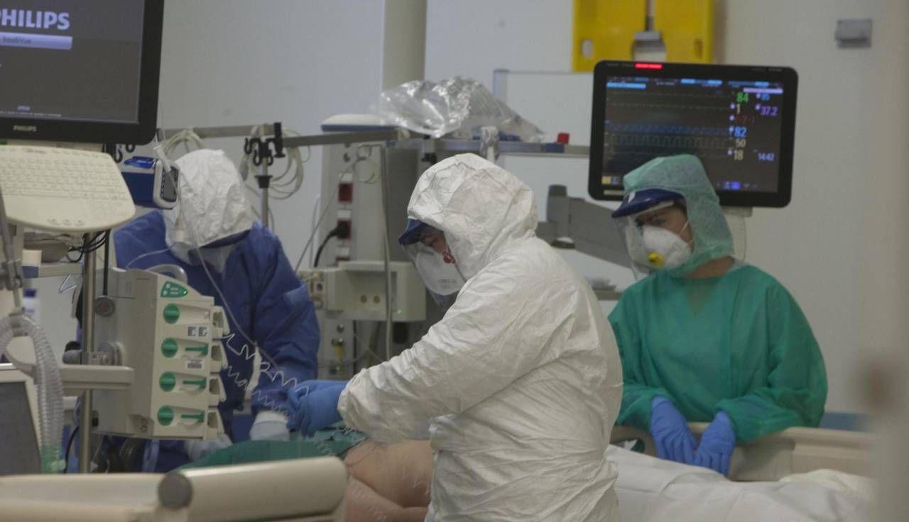 Il reparto di terapia intensiva dell'ospedale di Ravenna