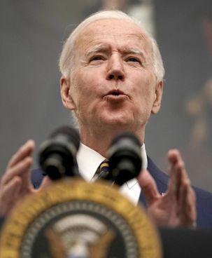 Il presidente Usa, Joe Biden, 78 anni, ieri nello Studio Ovale