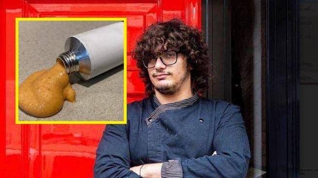 Valerio Braschi e la lasagna in tubetto