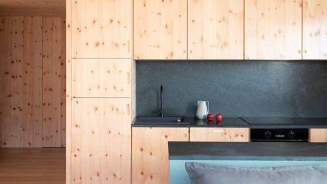 La casa a Bormio progettata su misura da Studio WOK