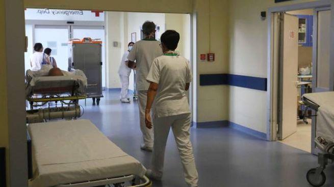 Il pronto soccorso dell'ospedale di Montichiari