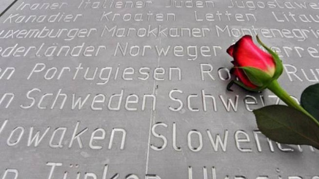 Il ricordo delle vittime dell'Olocausto