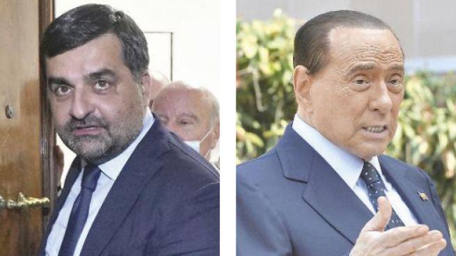 Luca Palamara e Silvio Berlusconi