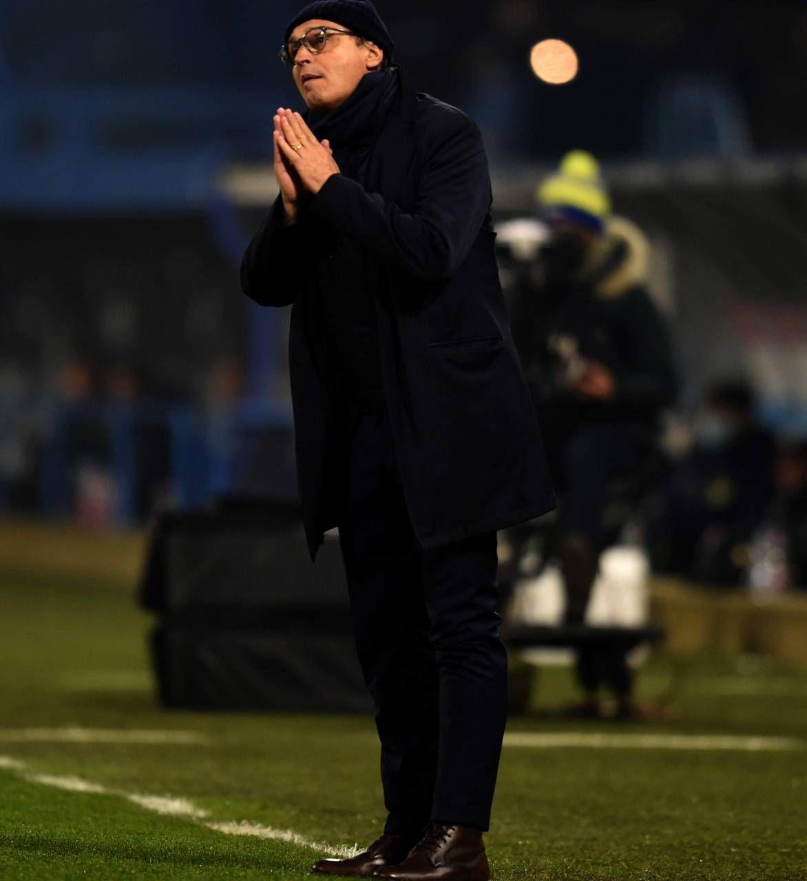 Pasquale Marino a Torino non avrà i soli Di Francesco e Tumminello, che per giunta è squalificato in Coppa, ma farà alcuni cambi (Foto Bp)