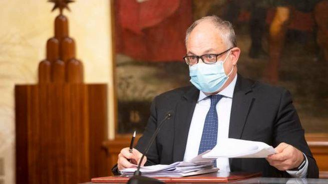 Il ministro dell'Econimia, Roberto Gualtieri (Ansa)