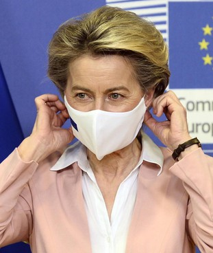 Ursula von der Leyen, 62 anni, presidente della Commissione europea