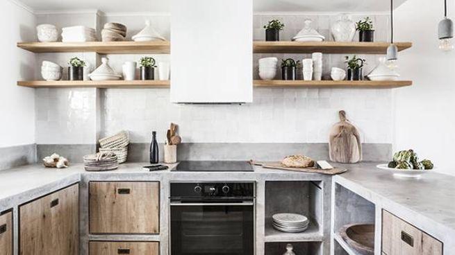 cucine in muratura, belle e low cost