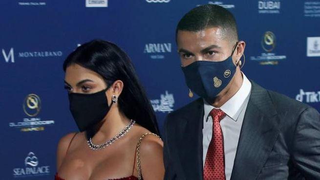 Cristiano Ronaldo e Georgina Rodriguez (Ansa)