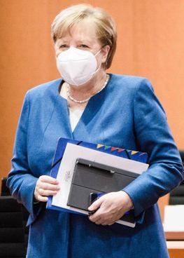 La cancelliera tedesca Angela Merkel, 66 anni