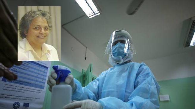 Nel riquadro, la dottoressa che ha scoperto la cura anti-covid