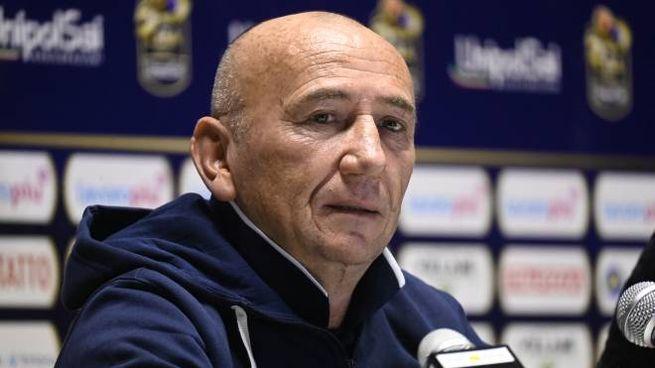 Luca Dalmonte, coach della Fortitudo Bologna (FotoSchicchi)