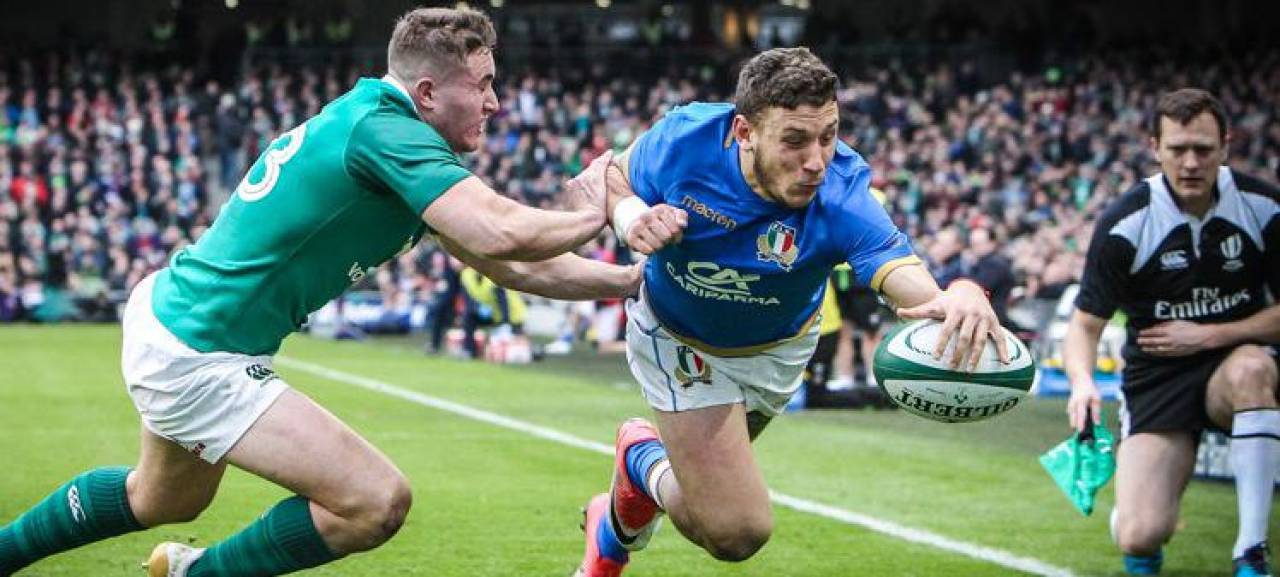 Matteo Minozzi (24 anni), in maglia azzurra, ha rifiutato di restare due mesi nella bolla per. il torneo 6 Nazioni di rugby