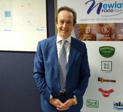 Il dottor Angelo Mastrolia, numero uno di Newlat