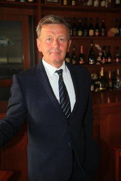 II presidente del Consorzio Tutela Lambrusco, Claudio Biondi. Il nuovo organismo di tutela, che riunisce i produttori di Modena, Reggio Emilia e del Reno, copre circa 16.000 ettari coltivati a vite