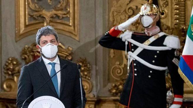 Il presidente della Camera, Roberto Fico (Ansa)