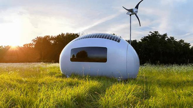 Ecocapsule di Nice Architects
