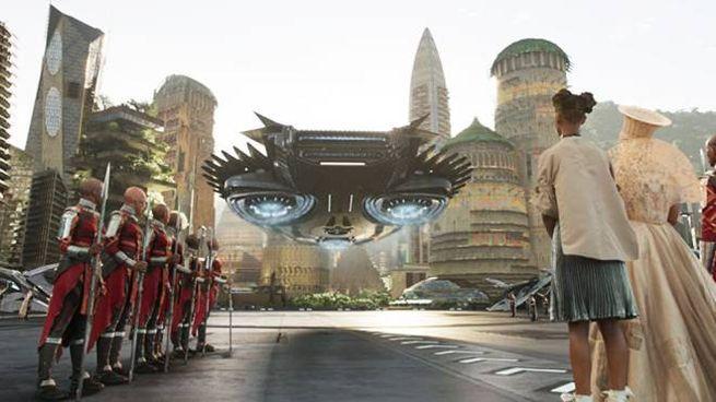 Una scena dal film 'Black Panther' - Foto: Marvel Studios