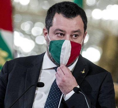 Matteo Salvini, 47 anni, leader della Lega, è stato vicepremier e ministro dell'Interno nel governo Conte I