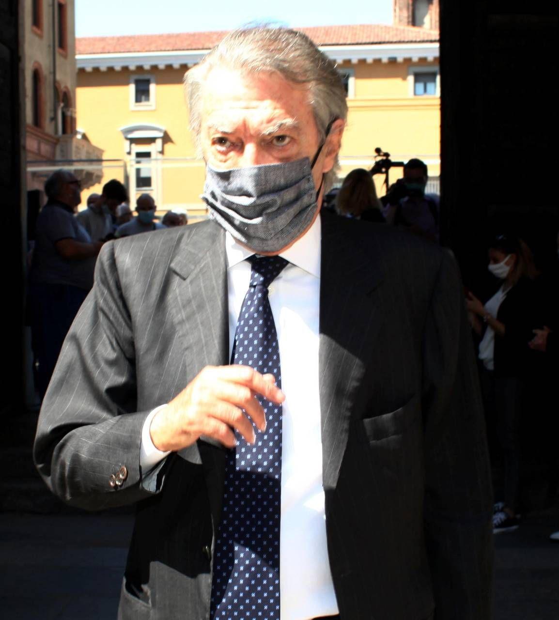 Massimo Moratti, 75 anni, presidente dell'Inter fino al 15 novembre 2013