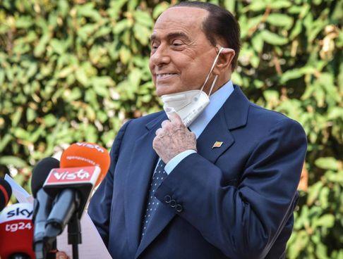Il leader di Forza Italia, Silvio Berlusconi, 84 anni