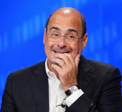 Il segretario del Partito democratico, Nicola Zingaretti, 55 anni