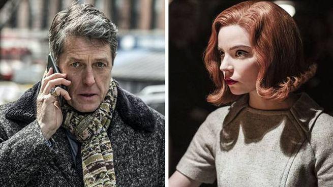Anya Taylor-Joy e Hugh Grant - Foto: Netflix/HBO