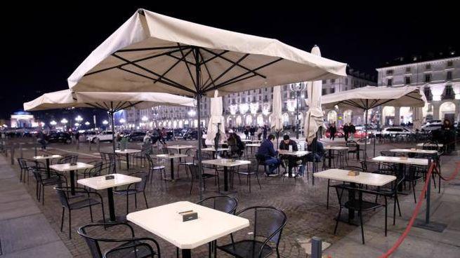 Un ristorante a Torino (Ansa)