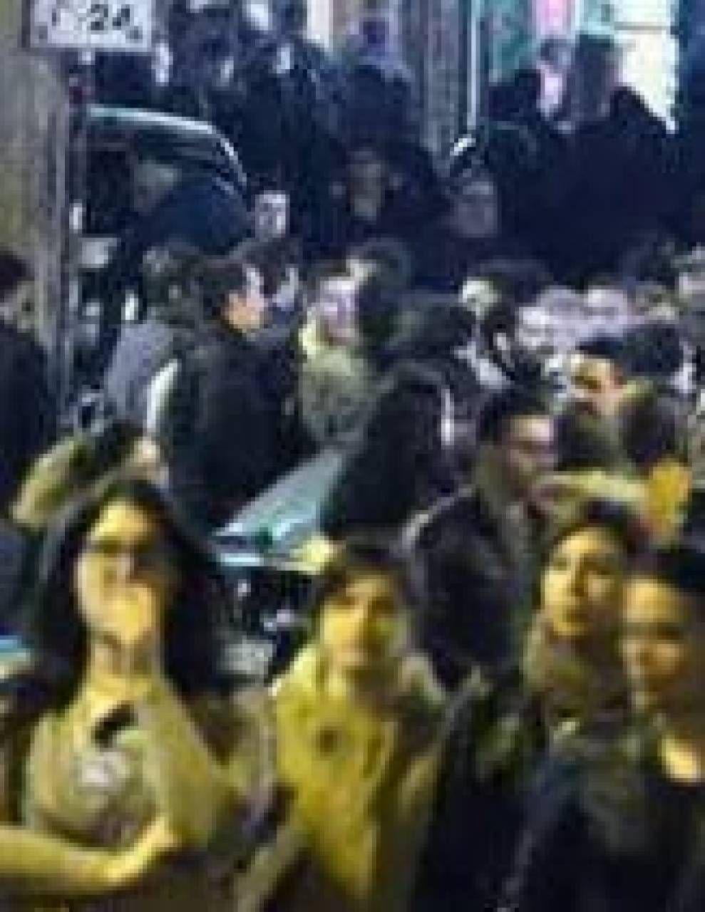 Assembramenti a San Lorenzo, Roma