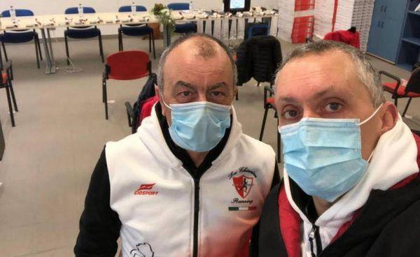 Il presidente Fausto Buffini e il vice Fulvio Crialesi saranno oggi alla Rsa di Torrita per la donazione degli strumenti sanitari