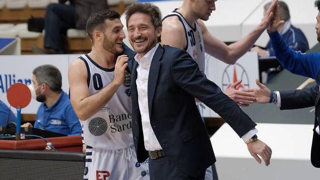 Marco Spissu e Gianmarco Pozzecco, gli ex di Fortitudo Bologna- Sassari