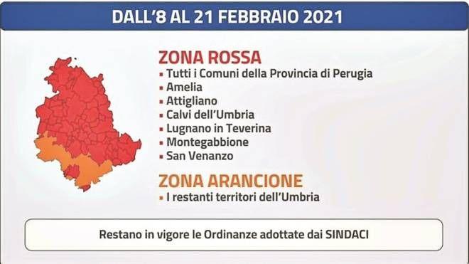 Cartina Geografica Cartina Comuni Della Provincia Di Cremona.Umbria Divisa A Meta La Mappa Dei Divieti Cronaca Lanazione It