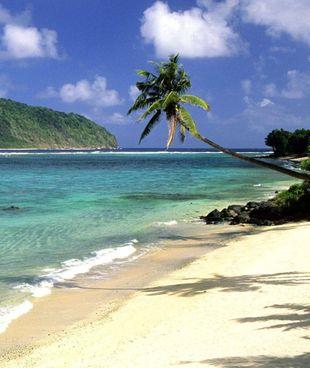 Le isole Samoa. I territori estranei al virus. sono stati favoriti dalla loro posizione geografica