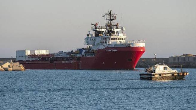 La nave Ocean Viking (Ansa)