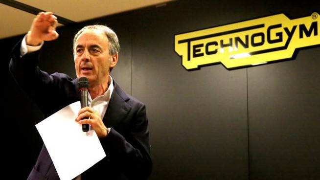 Il patron di Technogym Nerio Alessandri