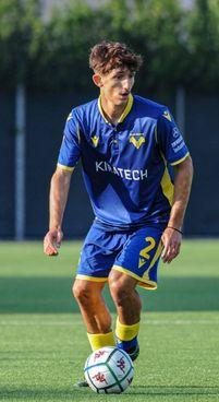 Il calciatore Andrea Gresele, 18 anni