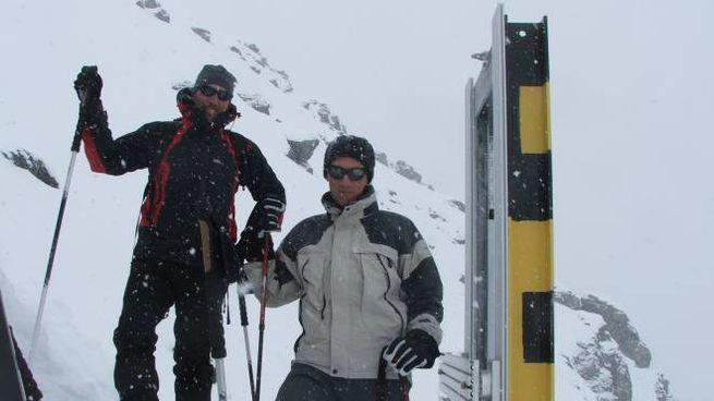 Bernardino Chiaia (a destra) con Valerio Segor