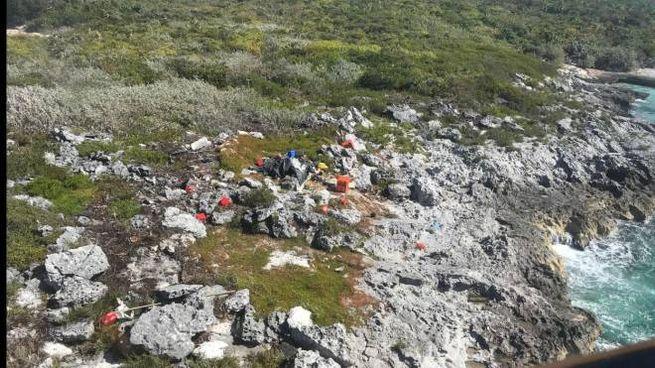 Tre cubani soccorsi sull'isolotto di Aguilla Cay, Bahamas
