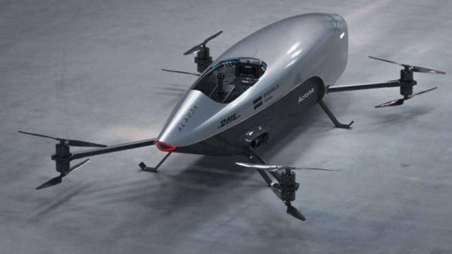 Un prototipo di Airspeeder Mk3 (Foto: Alauda Aeronautics)
