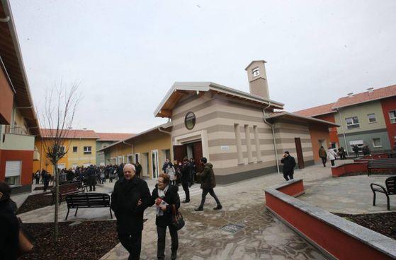 La rsd San Pietro-SLAncio è stata inaugurata nel 2014 e ospita 60 persone