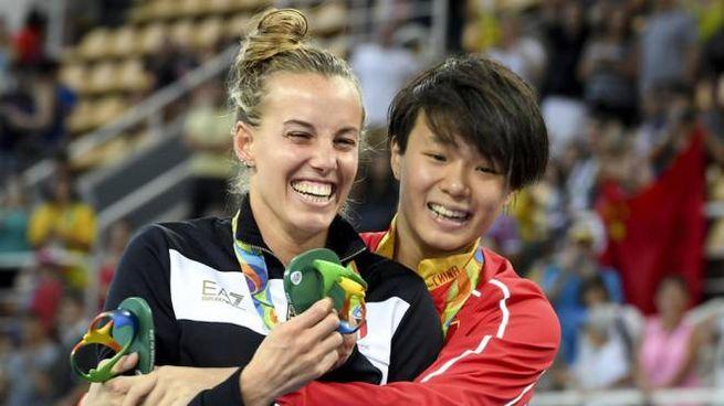 Alle Olimpiadi di Tokyo non vedremo più questi festeggiamenti - Foto: ANSA / CIRO FUSCO