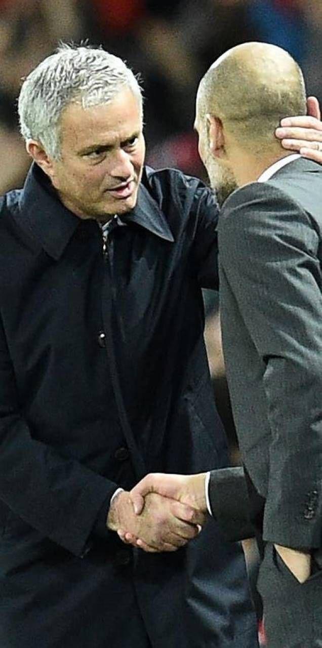Josè Mourinho e Pep Guardiola