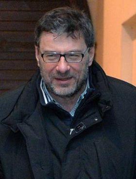 Il leghista Giancarlo Giorgetti, 54 anni