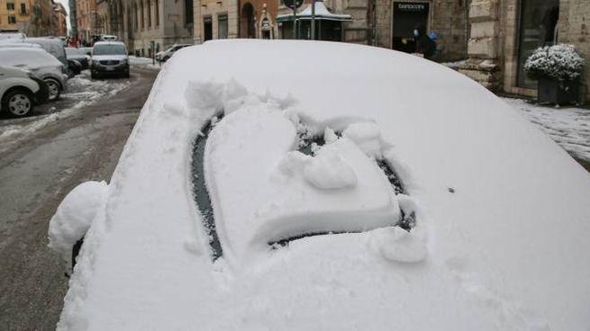 Freddo e neve in Umbria