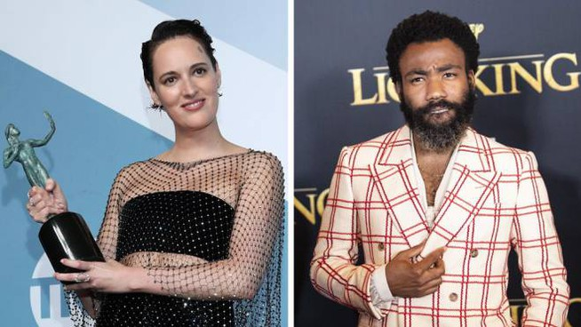 Phoebe Waller-Bridge e Donald Glover