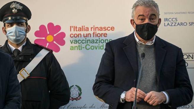 Domenico Arcuri, 58 anni, commissario all'emergenza Covid